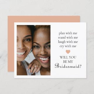 Cute Will You Be My Bridesmaid? Photo