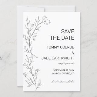 Daniella Save the date announcement Invitations