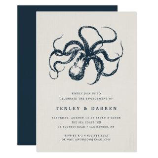 Deep Sea | Engagement Party Invitation