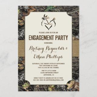 Deer Hunting Camo Engagement Party