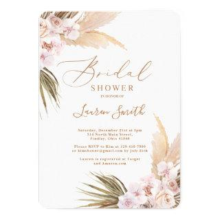 Desert boho bridal shower Invitations