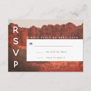 Desert Rocks RSVP Card