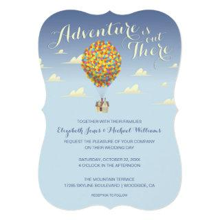 Disney Pixar Up Wedding | Adventure is Out There C Invitations
