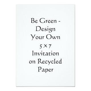 DIY - Design Your Own 5 x 7 Recycled Invitation