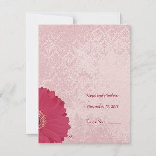 DIY You Score and Fold Tent Wedding Place Cards