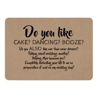 Do You Also Like... Funny Bridesmaid Proposal Invitations
