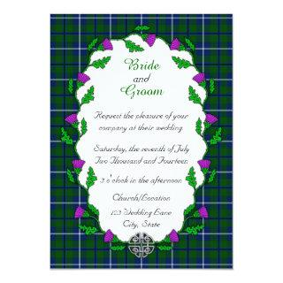 Douglas Celtic Wedding Invitation
