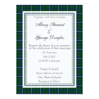Douglas Scottish Wedding Invitations