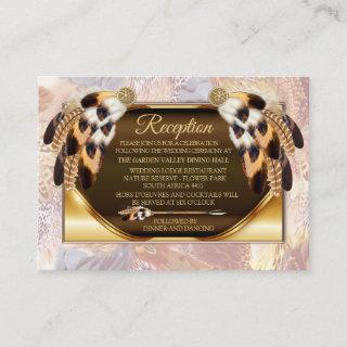Dream Catcher Reception Enclosure Card