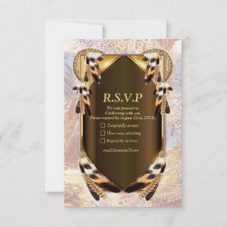 Dream Catcher RSVP Card