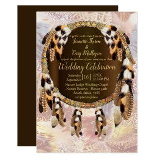 Dream Catcher Wedding Invitation
