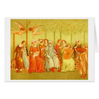 """Dream of Life"" Renaissance Painting Card"