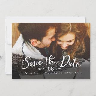 Dreamy Love EDITABLE COLOR Save The Date Card