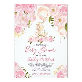 easter Bunny Baby shower Invitations Shower
