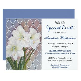 EASTER GARDEN PARTY EVENT INVITE