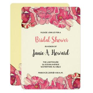 Easy Floral Event Invitations Template
