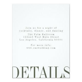 Editorial Style Details Card