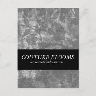 Elegant Couture Business Opening Announcement Card