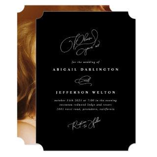 Elegant Love Invitation