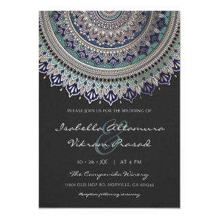 Elegant Mandala Wedding Invitations