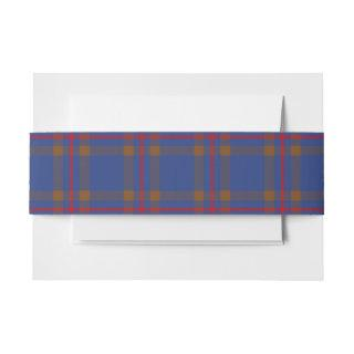 Elliot Scottish Tartan Belly Band