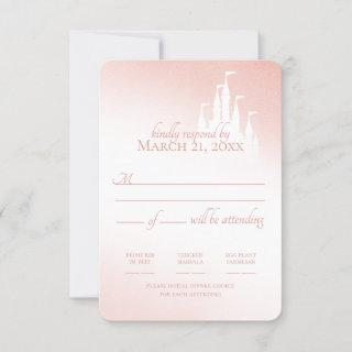 Enchanted Castle Blush Pink Fairy Tale Response