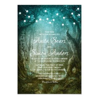 Enchanted Forest Fairy Tale Wedding Invitations