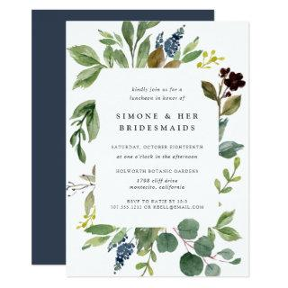 Eucalyptus Grove Bridesmaids Luncheon Invitations