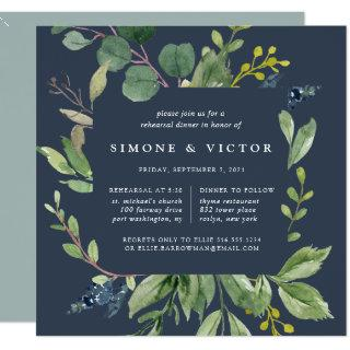 Eucalyptus Grove Rehearsal Dinner Invitations