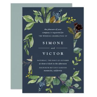 Eucalyptus Grove Wedding Invitations