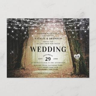 Evermore | Enchanted Fairy Forest | Amber Wedding Invitations
