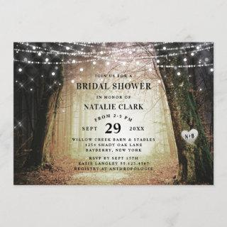 Evermore | Enchanted Forest Amber Bridal Shower Invitations