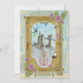 Fairytale Castle In The Mists Invitations