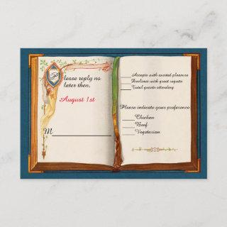 Fairytale Wedding Response Card