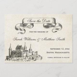 Fairytale Wedding Save the Date