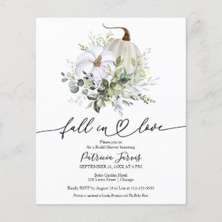 Fall In Love Budget Bridal Shower