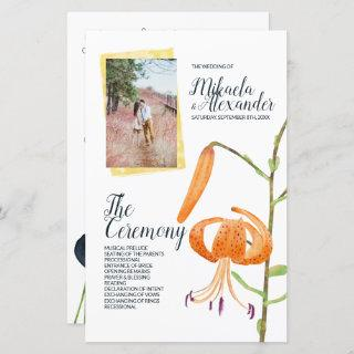Fall Lilies Ceremony Program