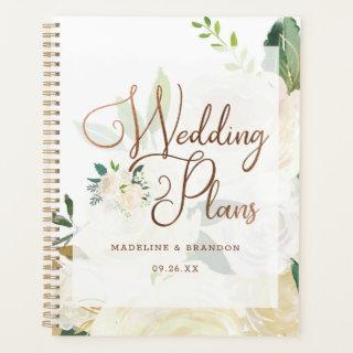 Farmhouse Fresh Rustic Country Fall Wedding Plans Planner