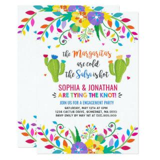 Fiesta Engagement Party Invitation Fiesta Party