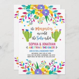 Fiesta Engagement Party Invitations Fiesta Party