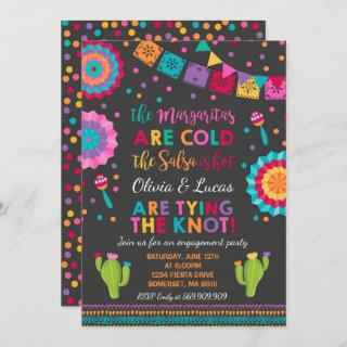 Fiesta Engagement Party Invitation Mexican Party