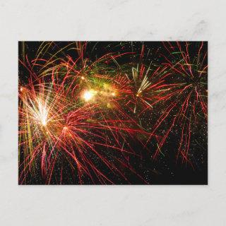 Firework 33 holiday postcard