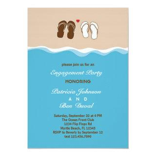 Flip Flops Engagement Party Invitation