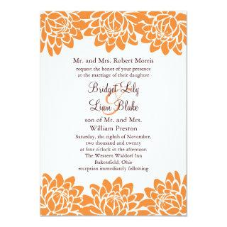 Floral and Modern Wedding Invitations
