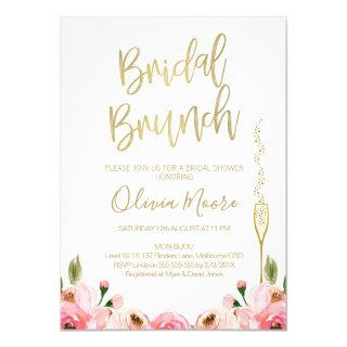 Floral Bridal Brunch Bridal Shower Invitations