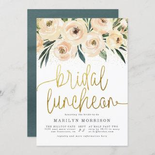 Floral Bridal Luncheon Bridal Shower Invitations