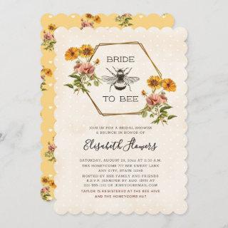 Floral Bride To Bee Bridal Shower