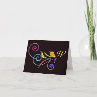 Floral Swirl / Thank You or Note Cards