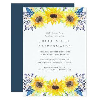 Flowerfields Bridesmaid Luncheon Invitations