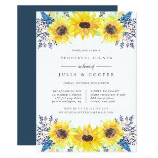 Flowerfields Rehearsal Dinner Invitations